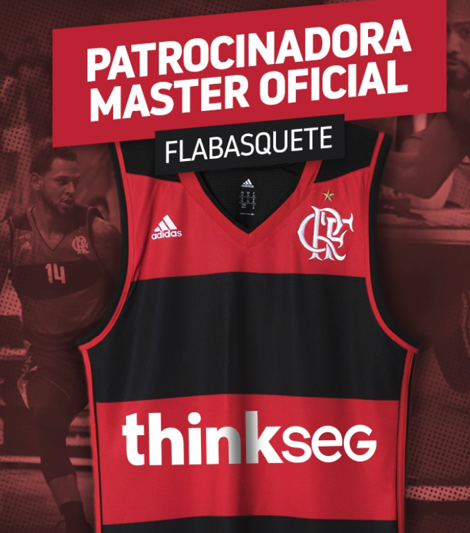 d0b8ef256bc thinkseg é o novo patrocinador máster do basquete do Flamengo ...